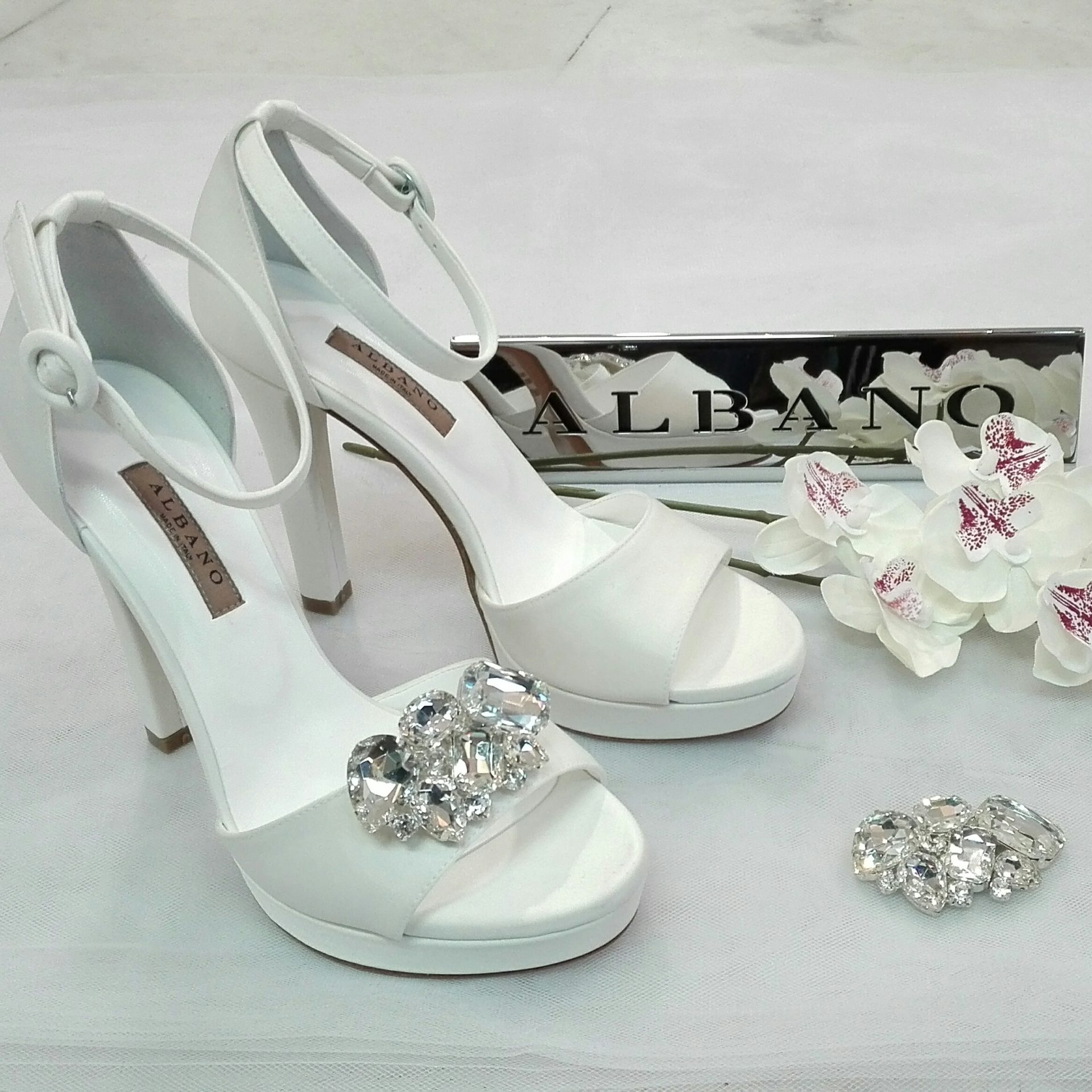 Clip Per Scarpe Da Sposa.Clip Gioiello Maryella Calzature