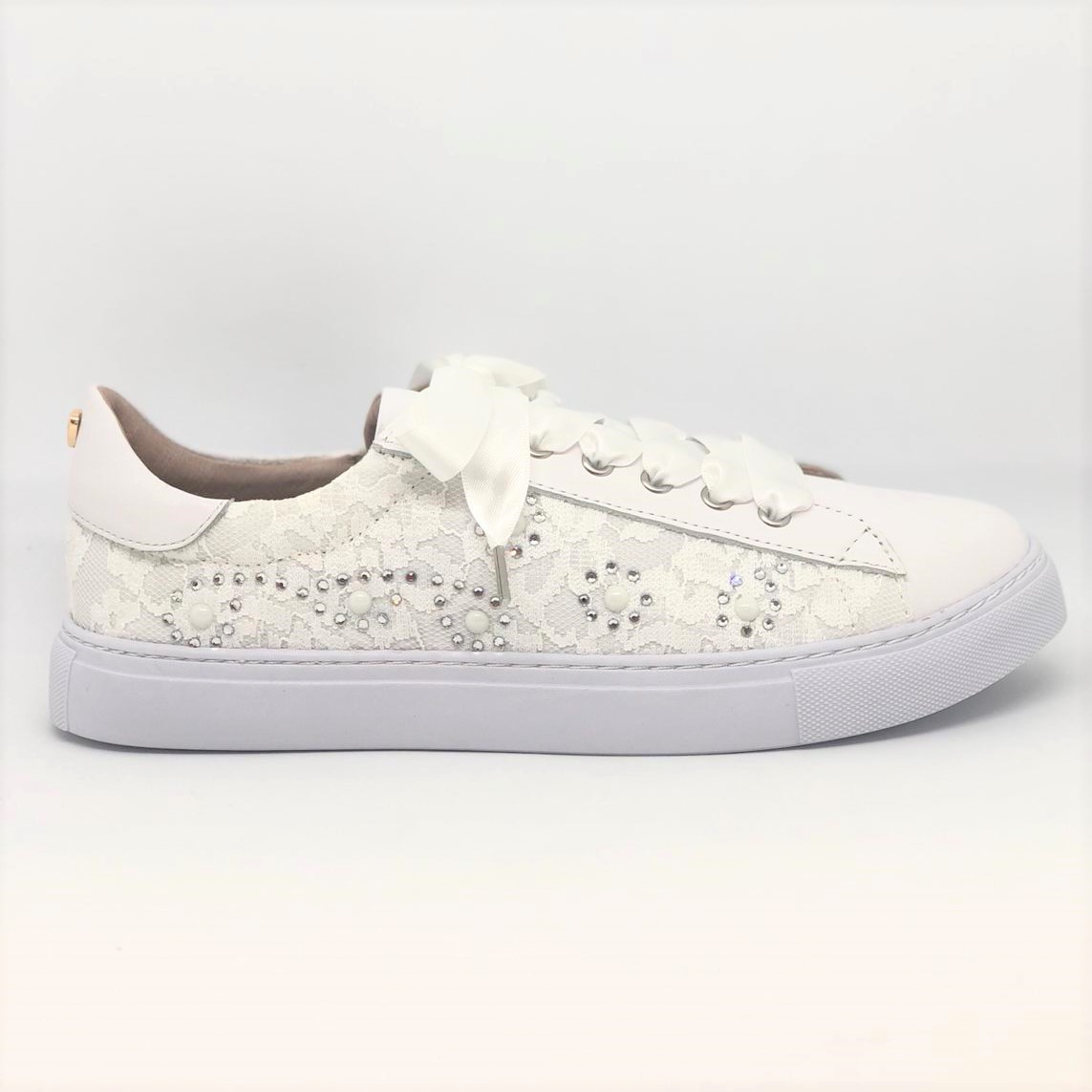 the latest f2858 386a6 TWINSET   SNEAKERS PIZZO BIANCO