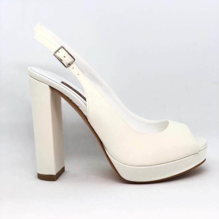 Chanel Scarpe Sposa.Albano Sposa Chanel Open Toe Art 4265 Maryella Calzature